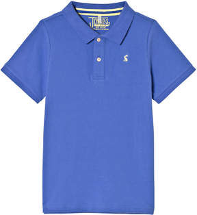 Joules Blue Pique Polo Top