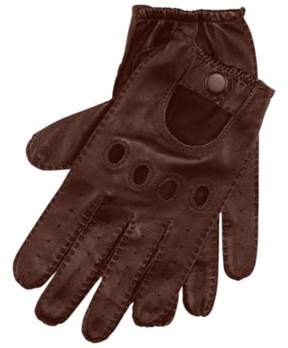 Ralph Lauren Leather Driving Gloves Brown M