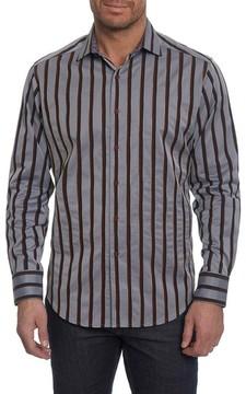 Robert Graham Men's Baltica Classic Fit Stripe Sport Shirt