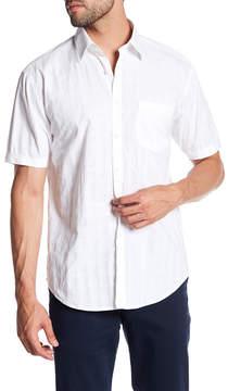 James Campbell Ardis Plaid Short Sleeve Regular Fit Shirt