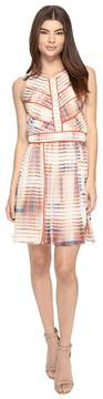 Adelyn Rae Printed Fit and Flare Dress Women's Dress