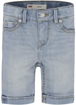Levi's Toddler Girl Denim Sweetie Bermuda Shorts