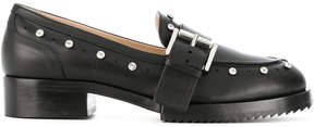 No.21 studded loafers