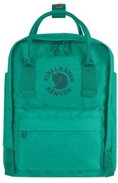 Fjallraven Mini Re-Kanken Water Resistant Backpack - Green