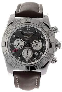 Breitling Chronomat GMT SS Chrmt 47 GMT-BRZIX-BRWLTH Stainless Steel Mens Watch