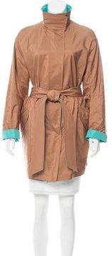 Akris Reversible Trench Coat