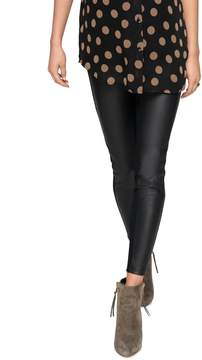 A Pea in the Pod Secret Fit Belly Faux Leather Maternity Pants