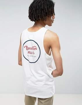 Brixton Tank With Back Logo