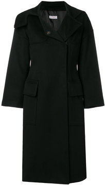 Alberto Biani concealed button coat