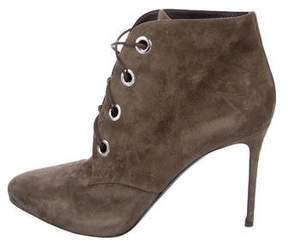 Belstaff Suede Lace-Up Ankle Boots