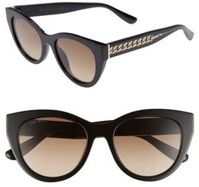 Jimmy Choo Women's Chana 52Mm Gradient Sunglasses - Black