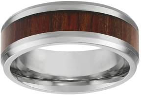 Lynx Stainless Steel & Wood Band - Men