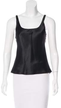 Josie Natori Sleeveless Silk Top