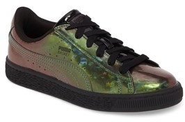 Puma Girl's Basket Classic Holo Ps Sneaker