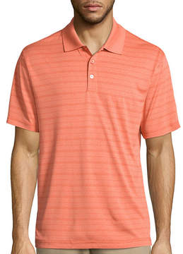 Haggar Short Sleeve Classic Polyester Polo Shirt