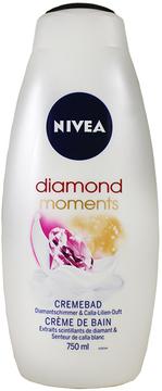 Nivea Diamond Moments Cream Bath by 750ml Bath Cream)