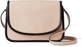 Kate Spade Rose Cloud Ward Place Ivy Leather Crossbody Bag