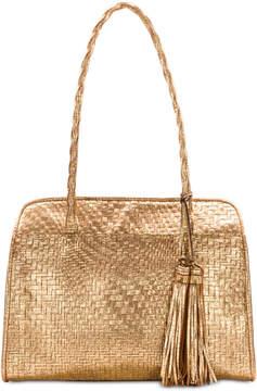 Patricia Nash Metallic Woven Paris Satchel, Created for Macy's