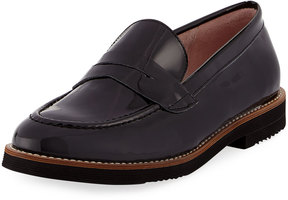 Andre Assous Patent Leather Loafer, Black