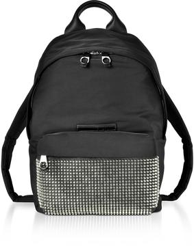 McQ Alexander McQueen Black Nylon Classic Backpack