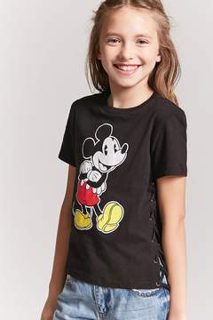 Forever 21 Girls Mickey Mouse Tee (Kids)