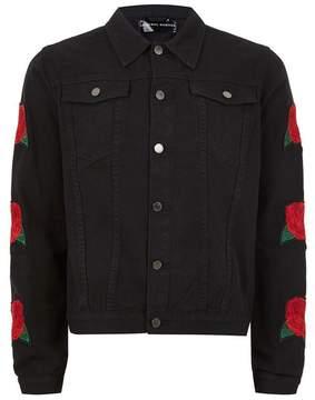 Criminal Damage Black 'Rosa' Jacket