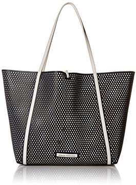 Armani Exchange A|X Big Perforated Shopping Tote