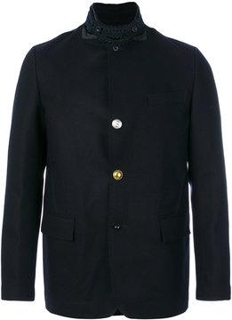Sacai ric-rac trim military jacket