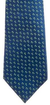 Charvet Geometric Patterned Silk Tie