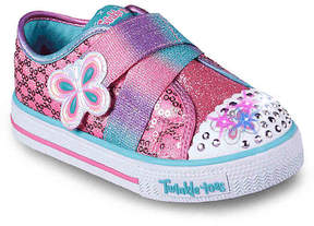Skechers Twinkle Toes Snazzy Skips Toddler Light-Up Sneaker - Girl's