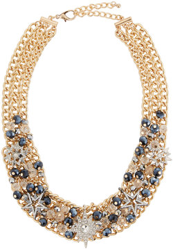 Fragments for Neiman Marcus Crystal Star Statement Necklace