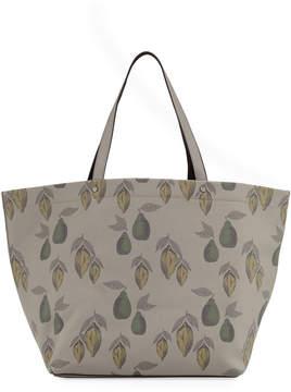 Neiman Marcus Large Saffiano Printed Tote Bag