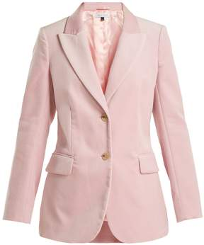 Bella Freud Isaacs tailored velvet jacket