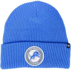 '47 Detroit Lions Ice Block Cuff Knit Hat