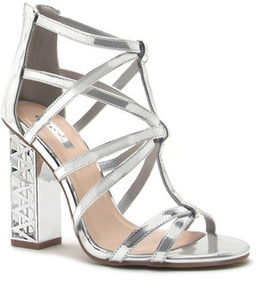Qupid Lumi Caged Strappy Sandal