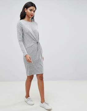 Esprit Twist Front Knitted Dress