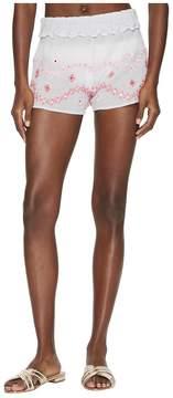 Letarte Embroidered Shorts