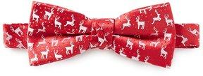 Class Club Christmas Deer Bow Tie