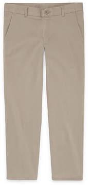 Izod EXCLUSIVE Boys 4-20 Stretch Flat Front Pant - Slim, Reg & Husky