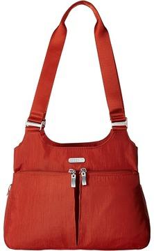 Baggallini - Triple Compartment Satchel Satchel Handbags