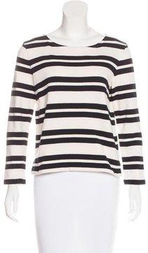 A.P.C. Striped Pattern Knit Top