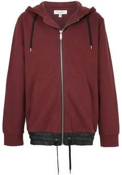 Public School zipped hooded sweatshirt
