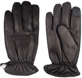 Dockers Men's InteliTouch Leather Touchscreen Gloves