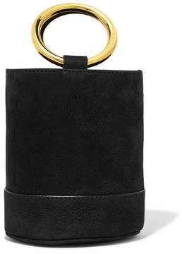 Simon Miller Bonsai 15 Mini Nubuck Bucket Bag - Black
