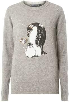 Dorothy Perkins **Tall Embellished Penguin Jumper