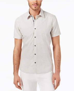 Ryan Seacrest Distinction Men's Slim-Fit Wave-Print Sport Shirt, Created for Macy's
