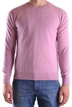 Altea Men's Pink Wool Sweater.