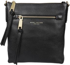 Marc Jacobs Recruit Zipped Crossbody Bag - BLACK - STYLE