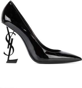 Saint Laurent Black Opyum 110 Heels