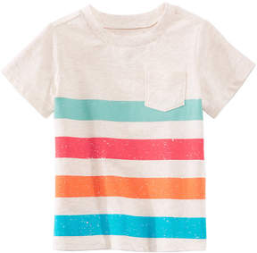 First Impressions Striped T-Shirt, Baby Boys, Created for Macy's